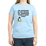 No windows Women's Light T-Shirt