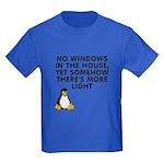 No windows Kids Dark T-Shirt