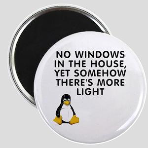 No windows Magnet