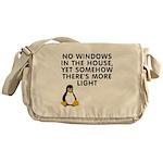 No windows Messenger Bag