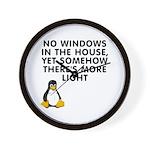 No windows Wall Clock