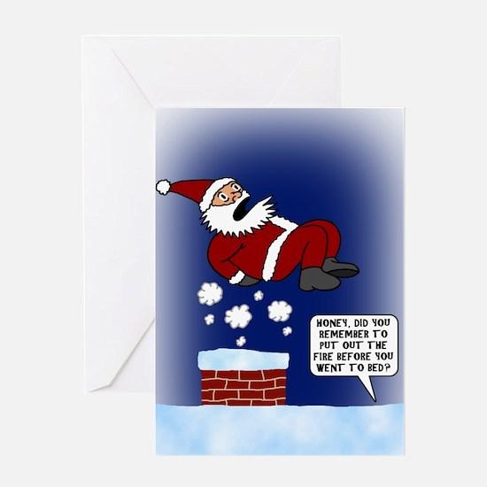 Hot Chimney Card (Single Card)