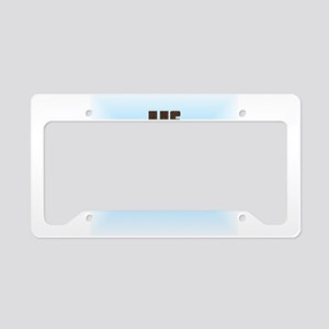 He Is Risen License Plate Holder