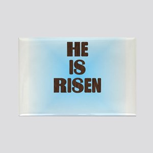 He Is Risen Rectangle Magnet