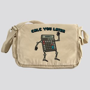 Calc You Later Messenger Bag