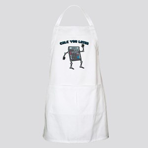 Calc You Later Apron