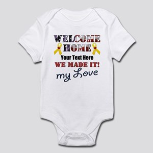 Personalize it- Welcome Home My Lo Infant Bodysuit