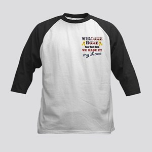 Personalize it- Welcome Home Kids Baseball Jersey