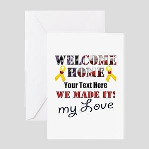 Homecoming Greeting Cards Cafepress