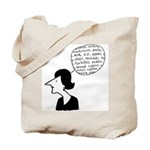 The Crabby Cook - Shop Girl Tote Bag