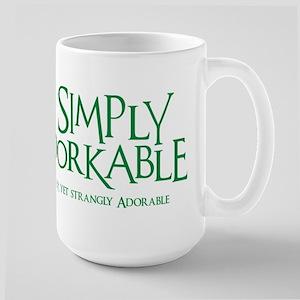 Adorkable Large Mug