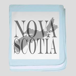 Nova Scotia baby blanket