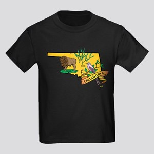 Oklahoma Map T-Shirt