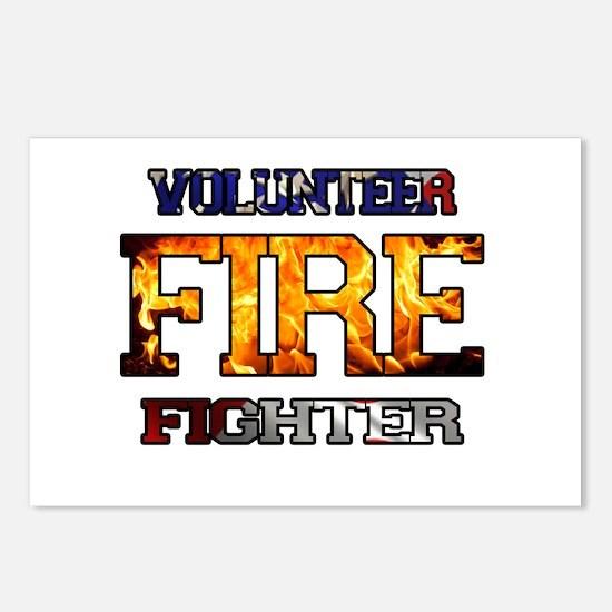 Volunteer Firefighter Postcards (Package of 8)
