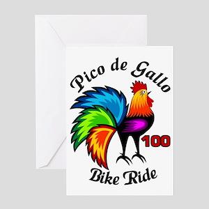 Pico De Gallo 100 Greeting Card