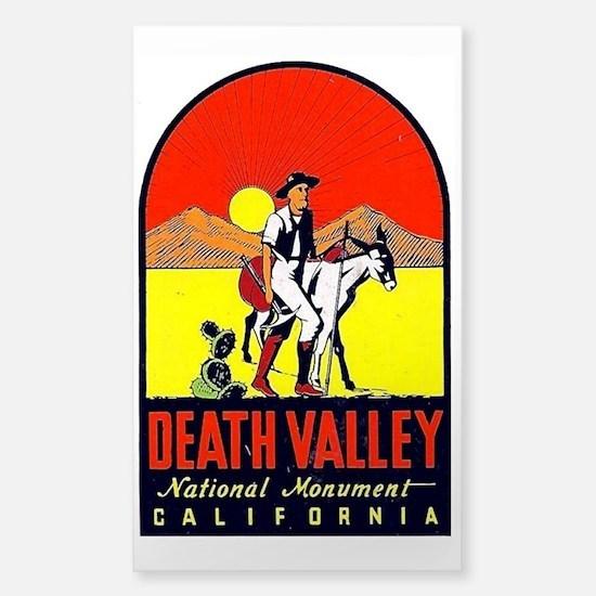 Death Valley Nat'l Monument Sticker (Rectangle)
