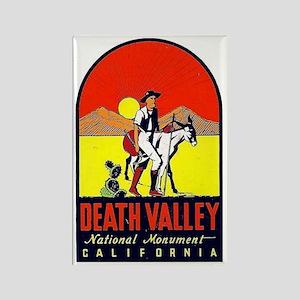 Death Valley Nat'l Monument Rectangle Magnet