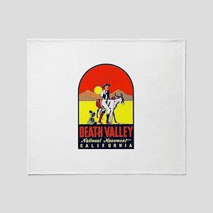 Death Valley Nat'l Monument Throw Blanket