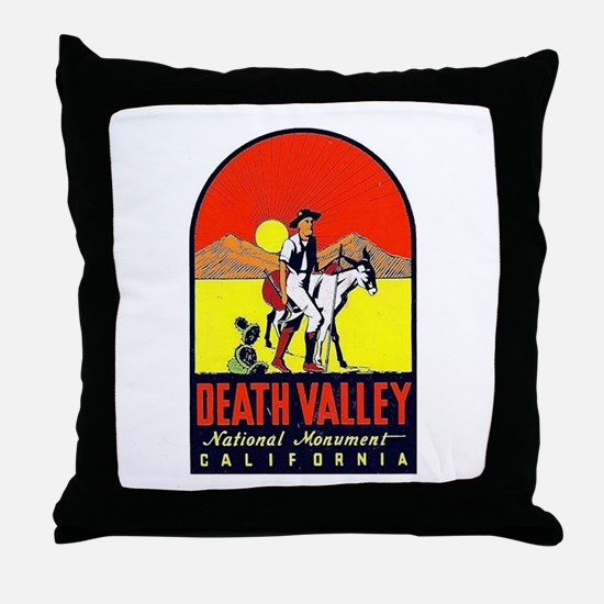 Death Valley Nat'l Monument Throw Pillow