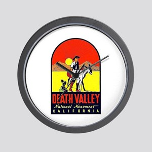 Death Valley Nat'l Monument Wall Clock