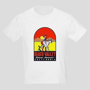 Death Valley Nat'l Monument Kids Light T-Shirt