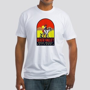 Death Valley Nat'l Monument Fitted T-Shirt