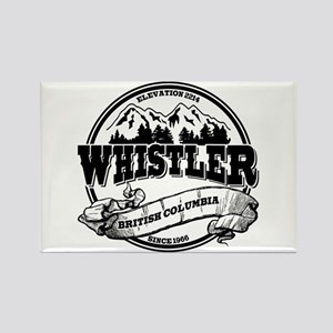 Whistler Old Circle 2 Rectangle Magnet