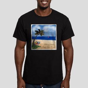 Lifes a beach final copy T-Shirt