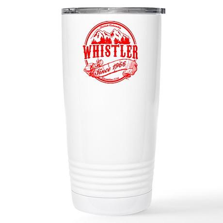 Whistler Old Circle Stainless Steel Travel Mug