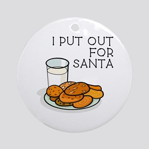 I PUT OUT... Ornament (Round)