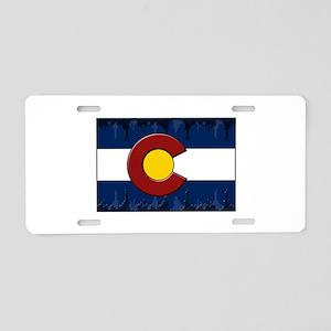 Colorado Equalizer Aluminum License Plate
