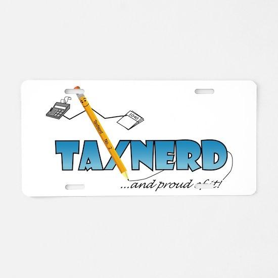 Unique Tax Aluminum License Plate