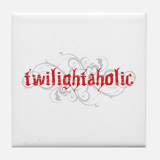 Twilightaholic Tile Coaster