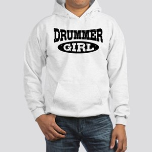Drummer Girl Hooded Sweatshirt