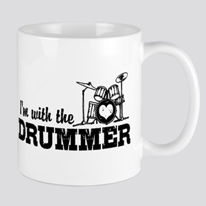 I'm With The Drummer Mug