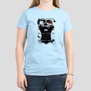 No Music No Life Women's Light T-Shirt