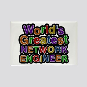 World's Greatest NETWORK ENGINEER Rectangle Magnet