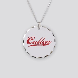 Cullen Baseball Necklace Circle Charm