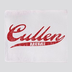 Cullen Baseball Throw Blanket