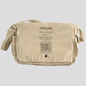 Midsummer Nights Dream Messenger Bag