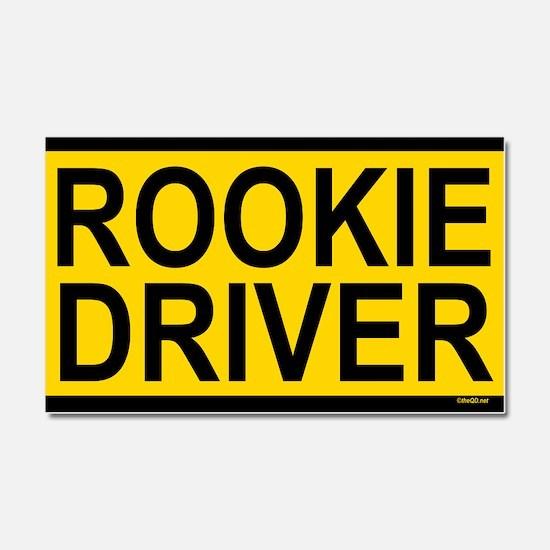 Rookie Driver Car Magnet 20 x 12