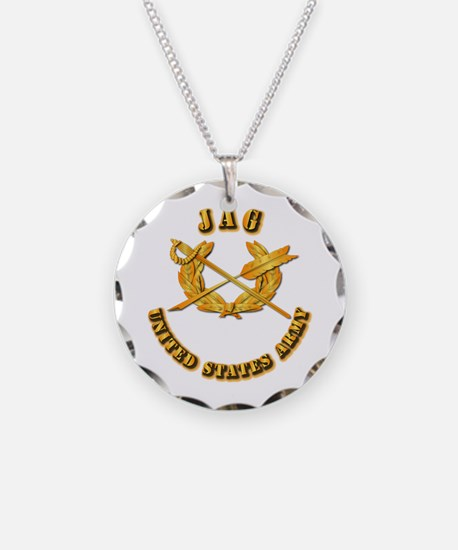 Army - JAG Necklace