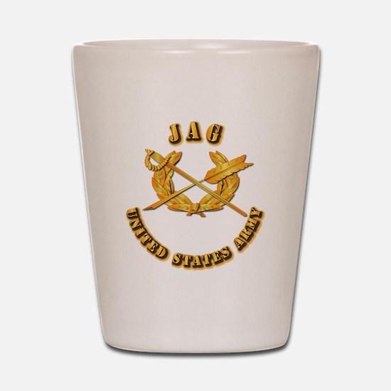 Army - JAG Shot Glass