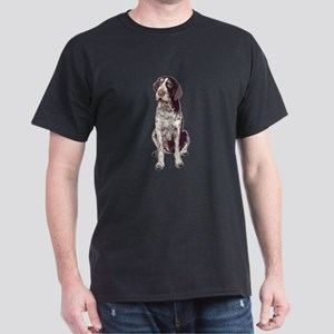 german wirehaired Pointer sit Dark T-Shirt