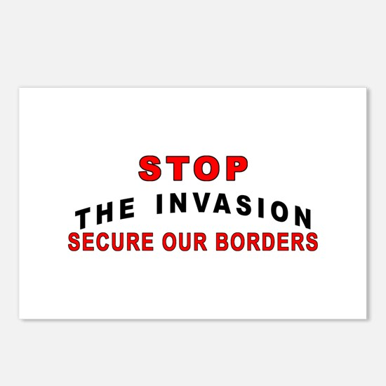 Stop The Invasion SOB  Postcards (Package of 8)