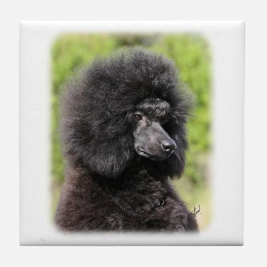 Poodle 9Y788D-048 Tile Coaster