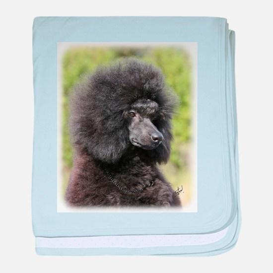 Poodle 9Y788D-048 baby blanket