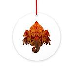 Ganesha Ornament (Round)