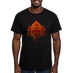 Ganesha Men's Fitted T-Shirt (dark)