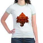 Ganesha Jr. Ringer T-Shirt